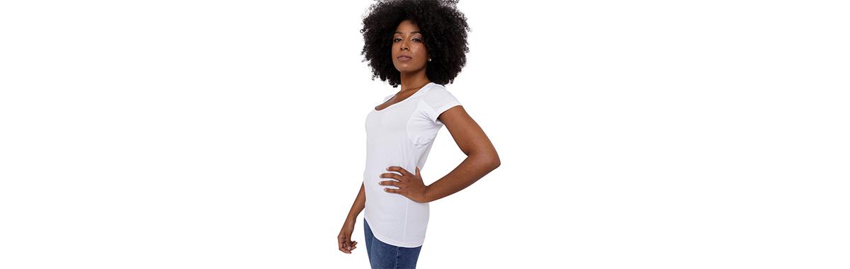 Camisa anti suor feminina