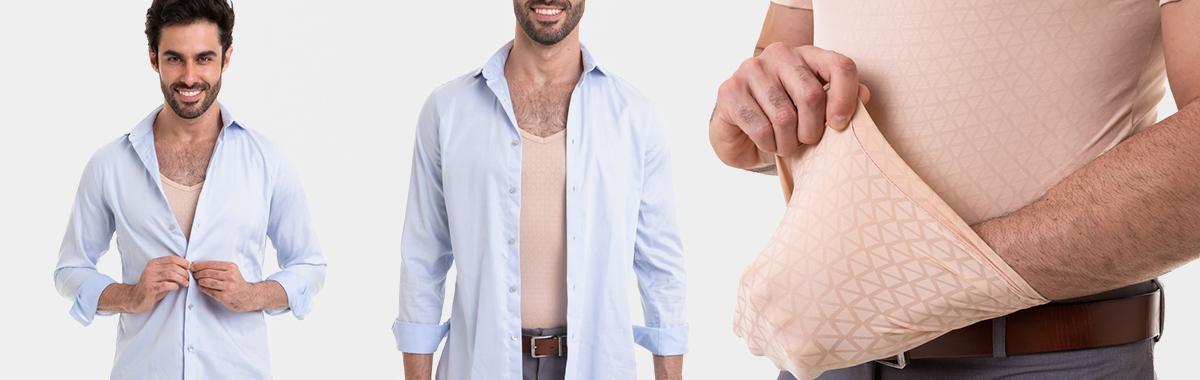 Camisa Antitranspirante
