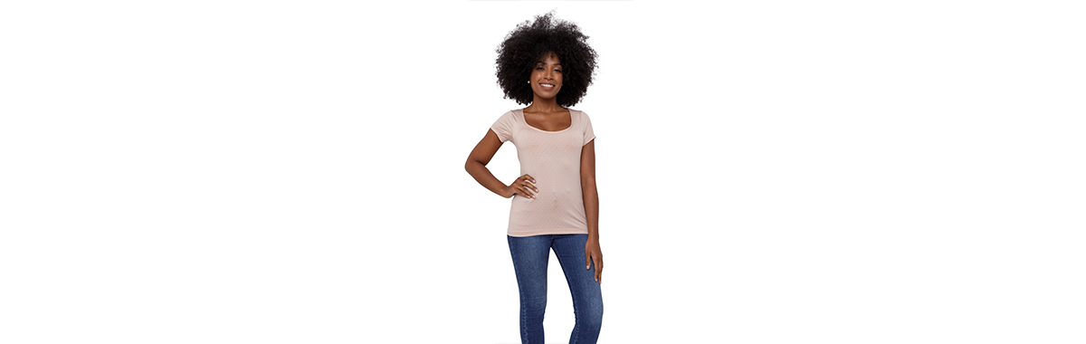 Camisa invisível segunda pele feminina