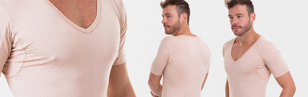 Camiseta confortável para academia masculina