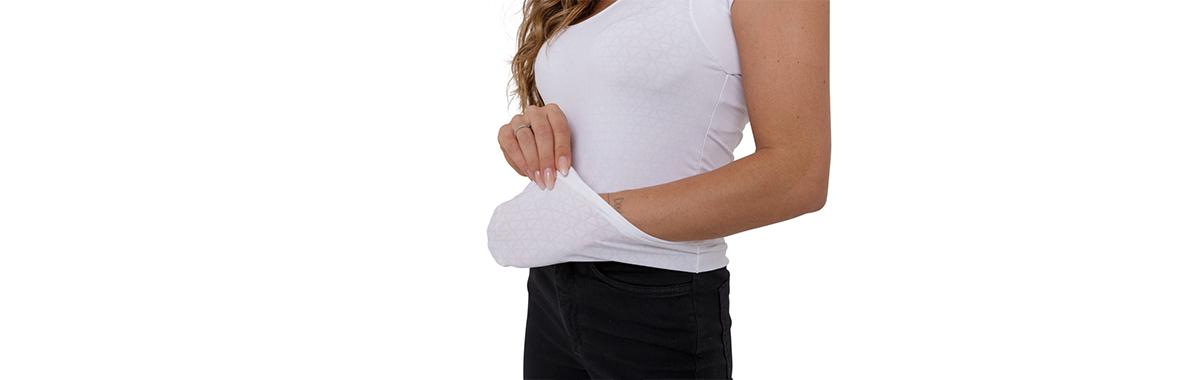 Camiseta confortável para prática de esportes feminina