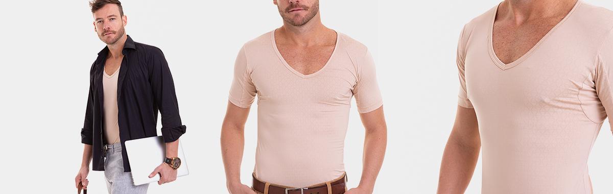 Camiseta para Reter Suor