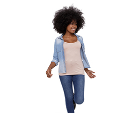 Camisa segunda pele feminina