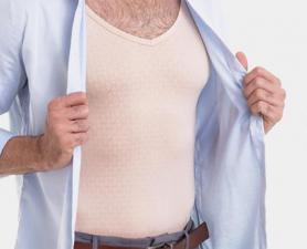 Camisa Segunda Pele Masculina Nude