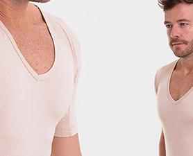 Camiseta confortável para malhar masculina