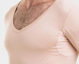 Camiseta Invisível Nude