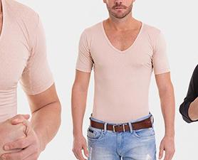 Camiseta poliamida masculina