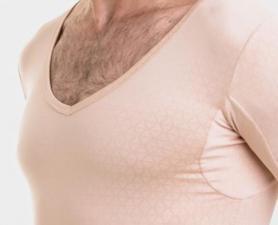 Camiseta Undershirt que Absorve Odor